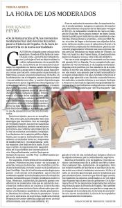 La hora de los moderados - ABC - Ignacio Peyró