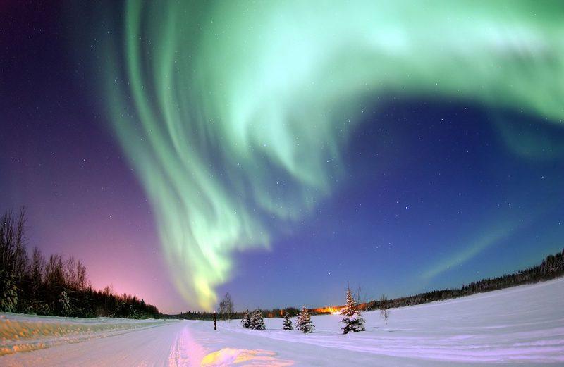Aurora Polar (Wikipedia Commons) - Los signos de un amor más sublime - Ignacio Peyró