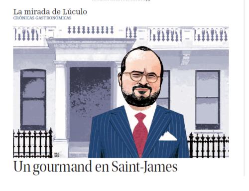 Luis M. Alonso en La nueva España