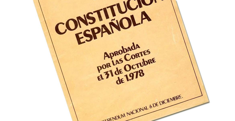 """Resultat d'imatges per a """"constitucion española 1978"""""""