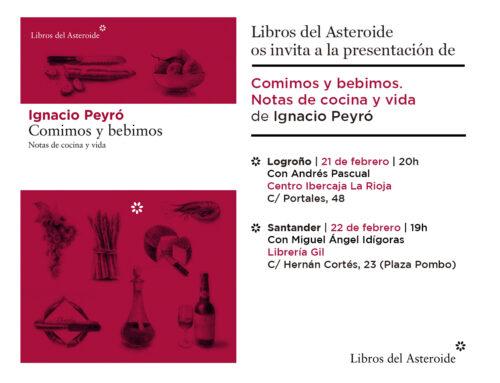 Presentaciones en Logroño y Santander